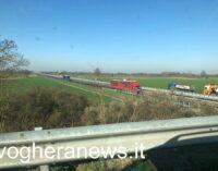 VOGHERA CASTEGGIO BRONI 19/03/2021: Strade. Ancora cantieri e chiusure per lavori sull'Autostrada (A21) Torino-Piacenza