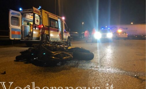BORNASCO 19/03/2021: Moto taglia la rotonda e si schianta. Morto un motociclista