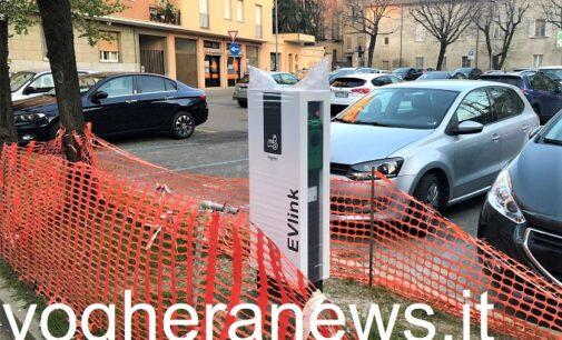 VOGHERA 26/03/2021: Auto elettriche. Ecco dove potranno sorgere tutte le colonnine di ricarica cittadine
