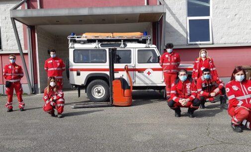 CASTEGGIO 06/03/2021: I momenti difficili non fermano la solidarietà alla Croce Rossa