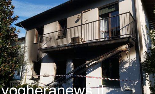 CASTEGGIO 21/03/2021: Incendio in casa. 94enne muore intossicato