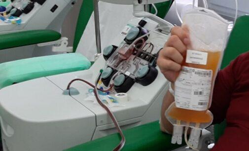 VOGHERA OLTREPO PAVIA 17/03/2021: Coronavirus. Arriva anche all'ospedale cittadino l'uso terapeutico del Plasma Iperimmune. Quattro i pazienti che lo hanno ricevuto (Ottima notizia ma ora serve anche altro)