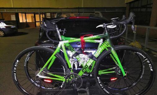 PAVIA 01/03/2021: Polizia arresta tre tentati ladri di biciclette. Sventato colpo da 20mila euro