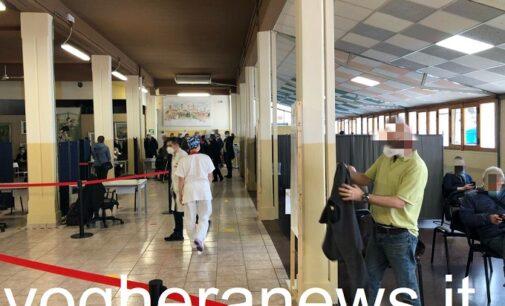 VOGHERA 08/03/2021: Inaugurato e già attivo il Punto Vaccinale Anti-Covid cittadino con una capacità di 1.300 somministrazioni al giorno