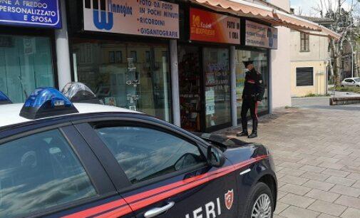 BRONI 15/04/2021: Preso dai carabinieri col registratore di cassa appena rubato. Un 38enne arrestato anche a Borgo Priolo