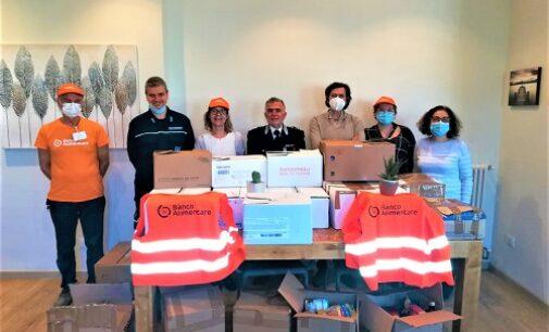 VOGHERA 01/04/2021: Banco Alimentare. Anche il personale e i detenuti del carcere di via Prati Nuovi hanno donato beni