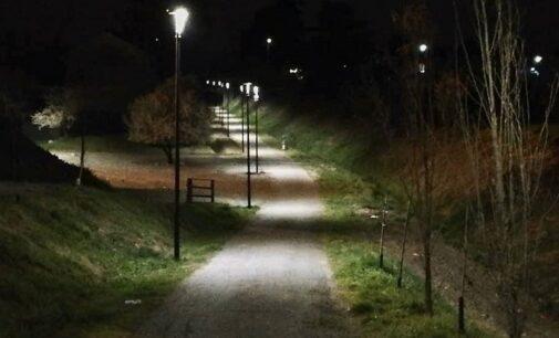 CODEVILLA 01/04/2021: Il Comune illumina di notte la Greenway. Tutti i progetti legati alla pista ciclopedonale Voghera-Varzi
