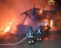 PAVIA 12/04/2021: Incendio all'area ex scalo merci. Confermata la presenza di amianto. Ma Ats garantisce la massima sorveglianza