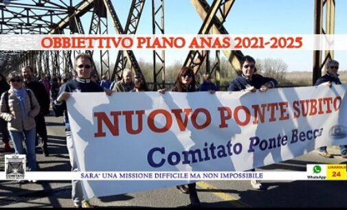 PAVIA LINAROLO BRONI 01/04/2021: Nuovo Ponte della Becca. Il Comitato suona la sveglia alla Provincia. Siamo in ritardo. Chiederemo spiegazioni