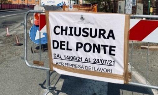 VOGHERA 30/04/2021: Ponte Rosso. Il Comune conferma la chiusura totale per 45 giorni. Ecco le motivazioni