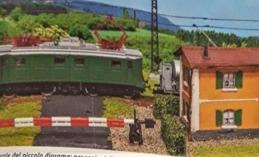 RIVANAZZANO VOGHERA 02/04/2021: Nei giorni del completamento della GreenWay un diorama pubblicato su una rivista nazionale riporta alla mente la vecchia ferrovia Voghera-Varzi. Il racconto dell'autore
