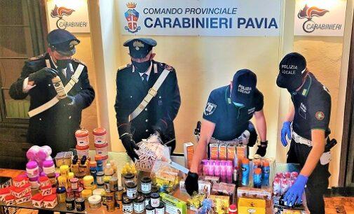 PAVIA 26/05/2021: Vendeva farmaci senza autorizzazione. I carabinieri sequestrano prodotti farmaceutici e cosmetici in un negozio