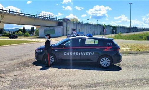 CASTEGGIO 14/05/2021:  Droga nell'auto. Carabinieri denunciano un 33enne residente a Voghera