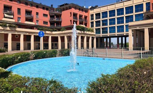 VOGHERA 26/05/2021: Riattivate le due fontane di viale Montebello 12