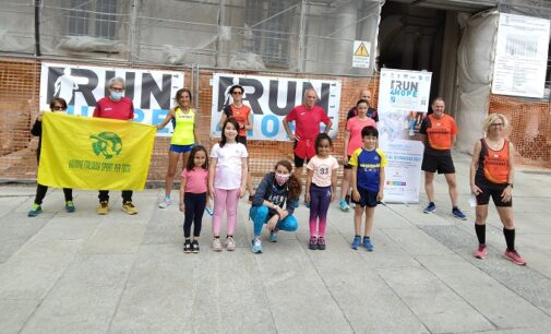 PAVIA VOGHERA 23/05/2021: Anche i corridori pavesi e oltrepadani protagonisti della Run 4 Hope per i bambini oncologici
