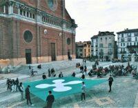 """PAVIA 29/05/2021: Flash mob della Lega Giovani anche a Pavia: """"Se riparte la Lombardia riparte il sistema Paese"""""""
