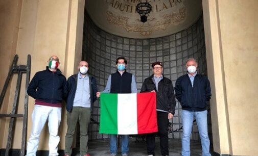VOGHERA 20/05/2021: Ricordate al Famedio le vittime italiane delle truppe coloniali francesi nel '43 -'44