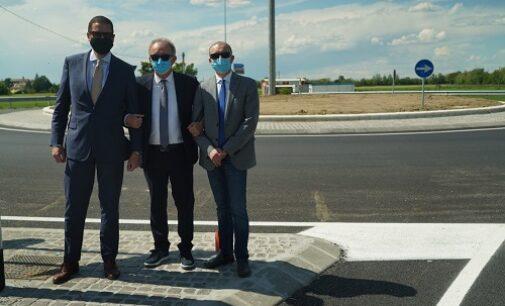 BRONI CIGOGNOLA 20/05/2021: Inaugurata la nuova rotatoria di via Vescovera