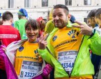 """VOGHERA 11/05/2021: L'associazione """"Una mano per…"""" anche quest'anno alla Milano Marathon. Ecco come si possono aiutare 34 famiglie vogheresi con figli disabili"""