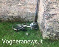 VOGHERA 14/06/2021: Giardini del Castello ancora meta di vandali e cittadini maleducati