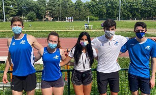 VOGHERA 03/06/2021: Atletica. Soddisfazioni per i giovani dell'Iriense nella gara del 2 giugno a Pavia