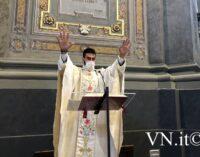 """VOGHERA 13/06/2021: La prima Messa di don Daniele Lottari. Per lui: Tanti fedeli Due regali e l'augurio di essere sempre """"pescatore di uomini"""""""