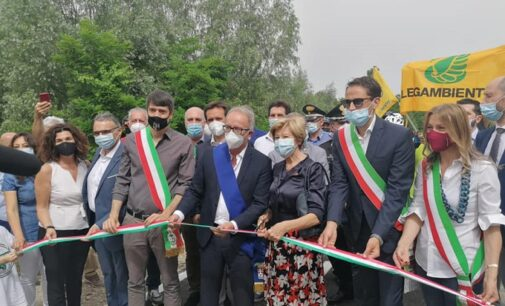 BAGNARIA 20/06/2021: Festa di tutti in Valle Staffora per l'inaugurazione della GreenWay Voghera-Varzi