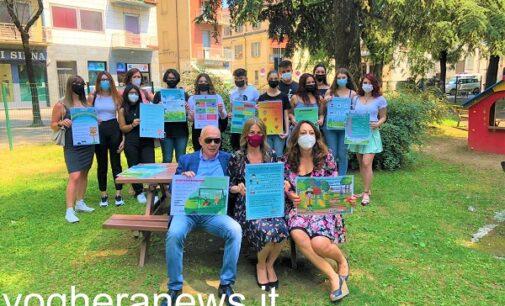 VOGHERA 16/06/2021: Frutto della lavoro degli alunni del Maragliano i cartelli presenti nei parchi gioco cittadini