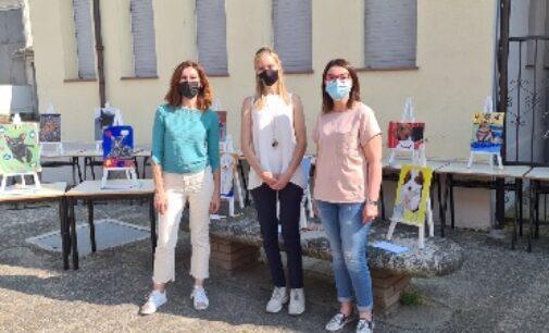 CERVESINA 11/06/2021: Scuola. Alla primaria di Cervesina una Mostra di Pittura per celebrare la fine delle lezioni