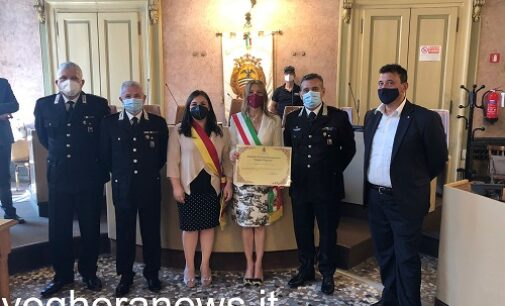 """VOGHERA 13/06/2021: Benemerenze """"Summa Viqueria"""". Conclusa oggi con il premio ai carabinieri la cerimonia iniziata sabato scorso. 9 le istituzioni premiate"""