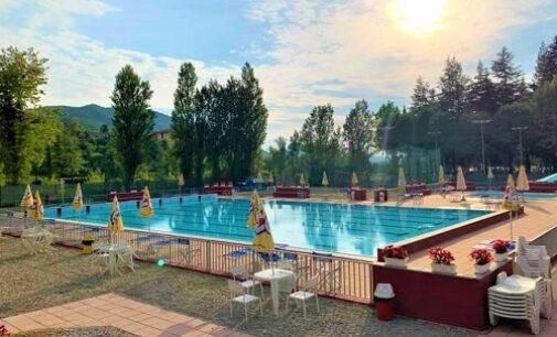 VARZI 03/06/2021: Turismo. Rinnovata la piscina comunale. I lavori grazie ai 200mila euro del Piano Fontana