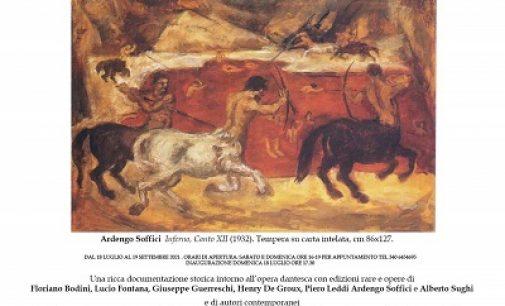 FORTUNAGO 17/07/2021: L'eredità di Dante in mostra da domani all'Auditorium del borgo oltrepadano