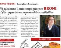 BRONI 10/07/2021: Una newsletter sui Social per illustrare il lavoro come Consigliera. L'idea di Giusy Vinzoni