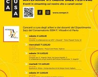 """VOGHERA 26/07/2021: Anteprima """"Vittadini Jazz Festival"""" 2021. La V edizione termina il 31 luglio col concerto di Oriolo."""