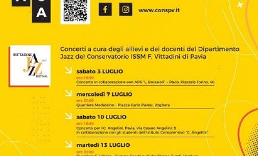 VOGHERA 13/07/2021: Musica. Stasera il concerto Jazz del Vittadini a San Vittore