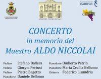 VOGHERA 06/07/2021: Il mondo della musica non scorda Aldo Niccolai. Per lui Venerdì sera un concerto in Santa Maria delle Grazie