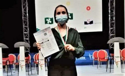 VOGHERA 27/07/2021: Danza. Marta Ravetta campionessa italiana di modern contemporary assolo