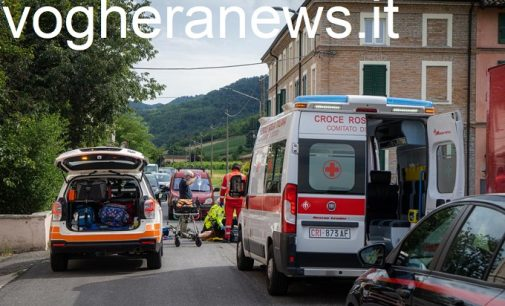 TORRAZZA COSTE 15/07/2021: Incidente stradale a Pragate. Grave un ciclista 65enne