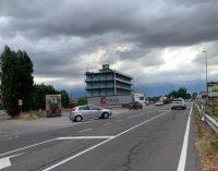 VOGHERA 09/07/2021: Ponte Rosso chiuso. Sempre critico l'incrocio vie Grippina-Piacenza… con qualche rischiosa novità