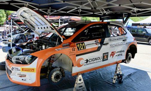 SALICE TERME 03/07/2021: Rally 4 Regioni. Dopo la prima giornata il primo in classifica è il vogherese Scattolon