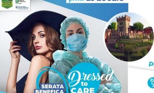 VALLE STAFFORA 13/07/2021: Medici e infermiere modelli e mannequinper la sfilata benefica del Rorary