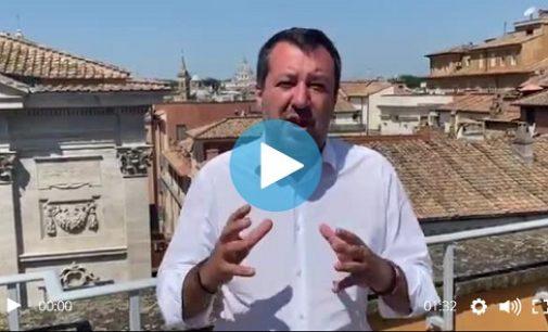 VOGHERA 21/07/2021: Uccisione in piazza Meardi. Salvini in un VIDEO. Se l'assessore è stato aggredito è legittima difesa