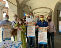 VOGHERA 23/07/2021: Referendum sulla Giustizia. Sabato mattina Udc in piazza Duomo per la raccolta firme