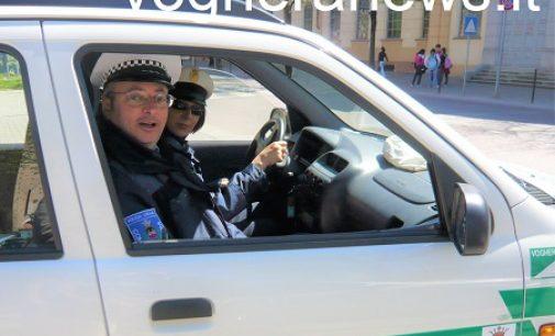 VOGHERA 28/07/2021: In pensione l'agente della polizia locale Antonino Giattino