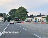 VOGHERA 16/07/2021: Ponte Rosso chiuso. Piazzate le barriere in strada Grippina. Scontro politico sulle parole dell'assessore