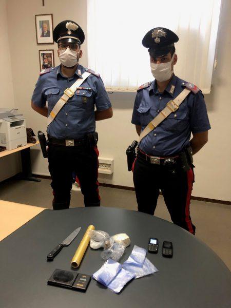 Carab arresto droga Casei