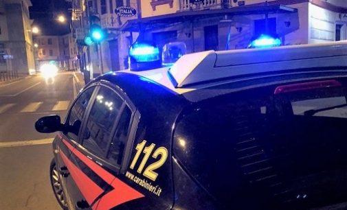 GODIASCO SALICE TERME 22/08/2021: Auto fugge alla vista dei carabinieri. A bordo un minorenne vogherese. L'auto era pure rubata