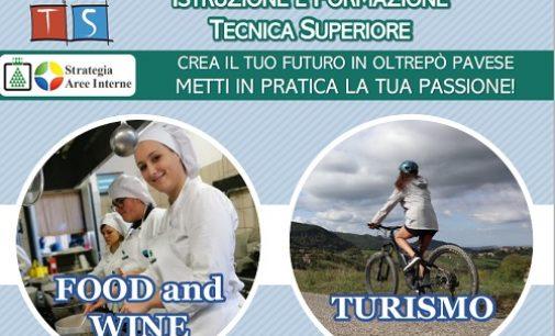 """VOGHERA OLTREPO 20/09/2021: """"Food &Wine"""" e """"Turismo"""". Aperte le iscrizioni ai corsi gratuiti IFTS dell'Istituto Santachiara"""