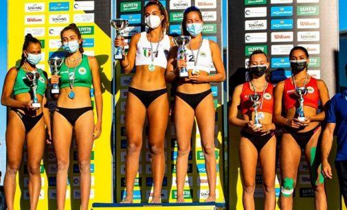 CAORLE 02/09/2021: Beach Volley. Asia Aliotta e Linda Moretti (del BVO di Salice Terme) sono le nuove campionesse italiane Under 16