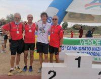 VOGHERA 15/09/2021: Campionati nazionali Aics su pista di Cesena. Atletica pavese 15 volte sul podio